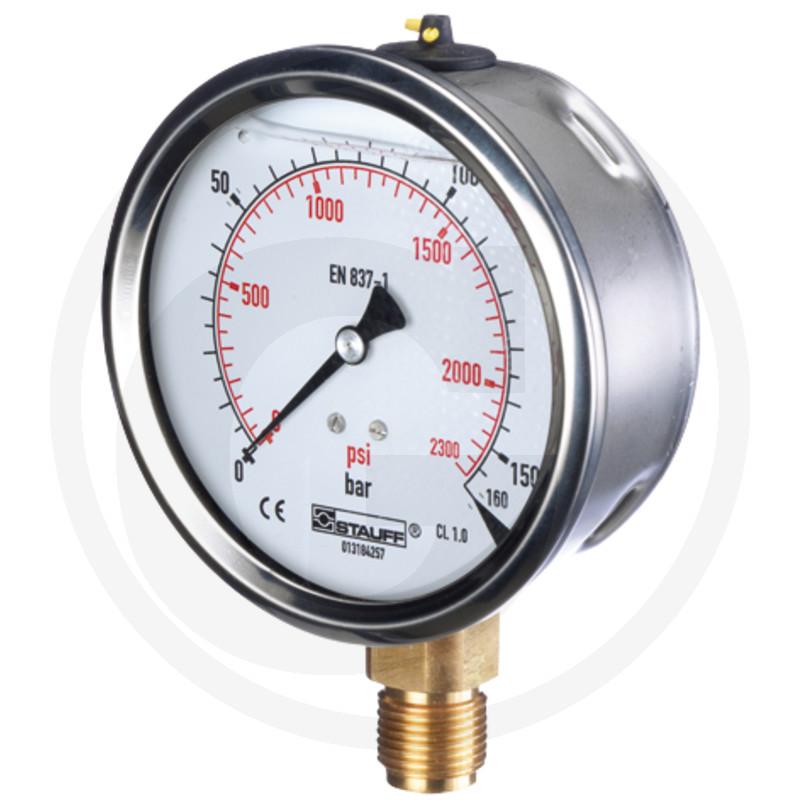WIKA Manometer 100 bar Ø 63 mm - 1/4