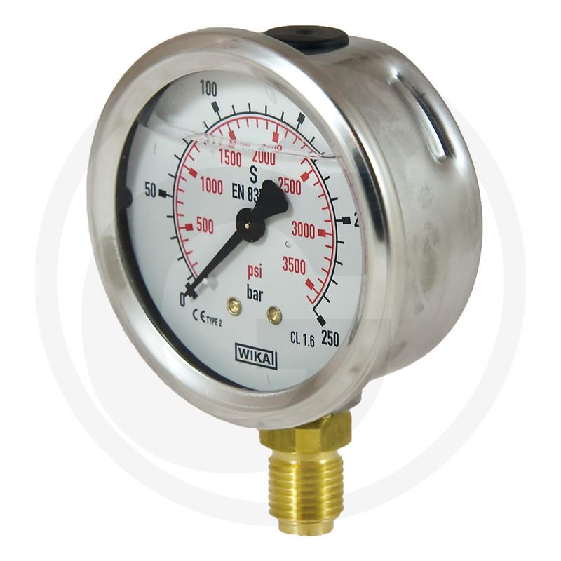 WIKA Manometer 250 bar Ø 63 mm - 1/4