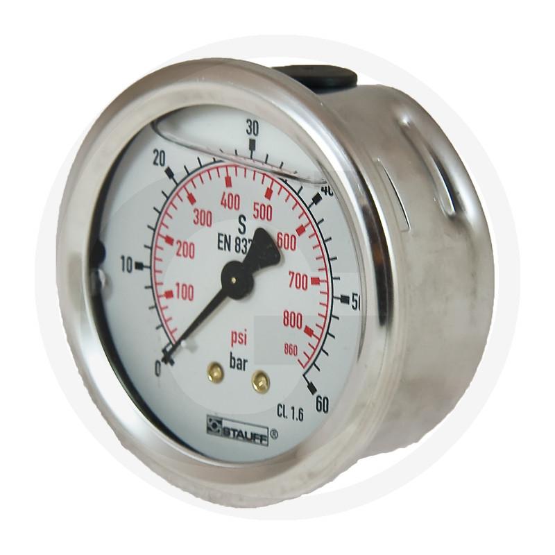 WIKA Manometer 60 bar Ø 63 mm - 1/4