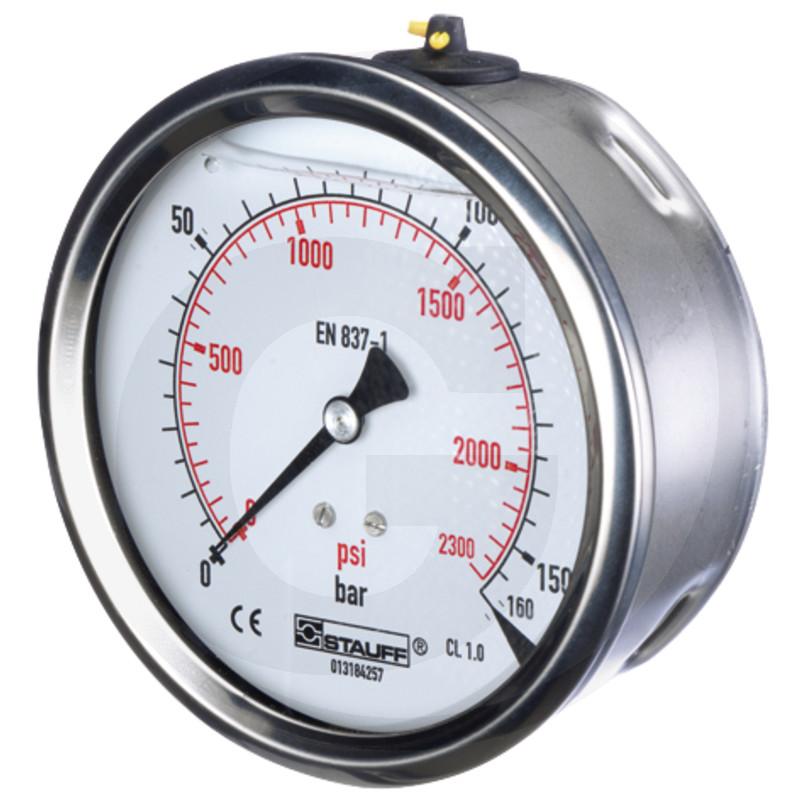 WIKA Manometer 100 bar Ø 63mm - 1/4