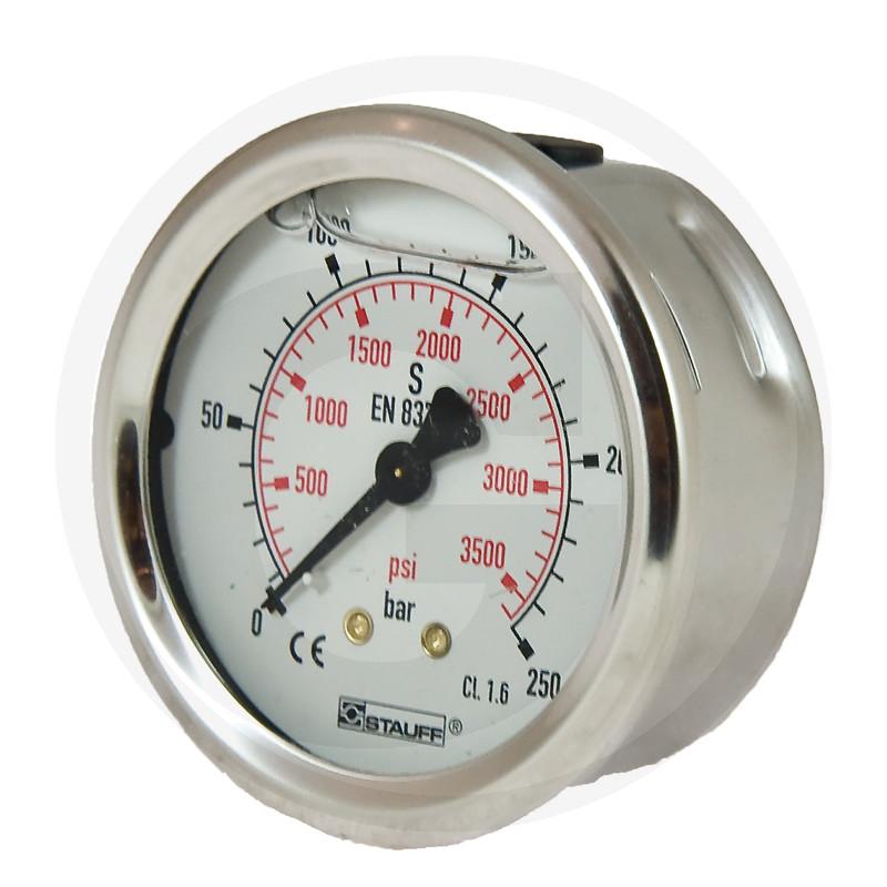 WIKA Manometer 250 bar Ø 63mm - 1/4