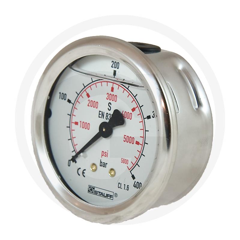 WIKA Manometer 400 bar Ø 63 mm - 1/4