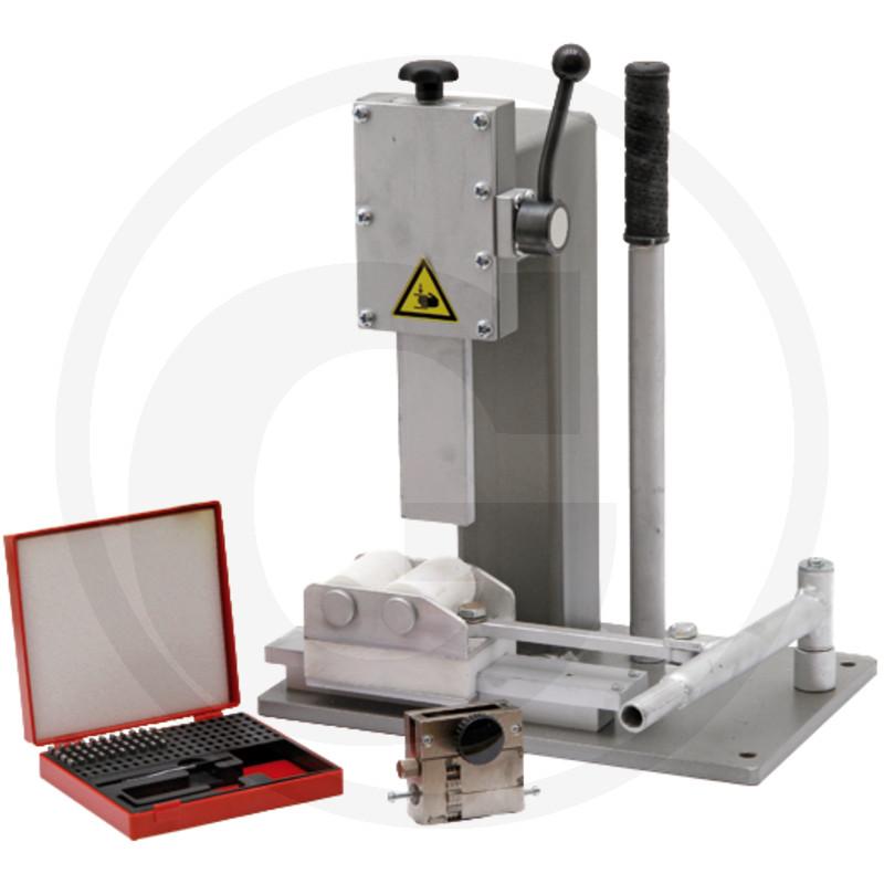 Handstempelmachine incl. stempels