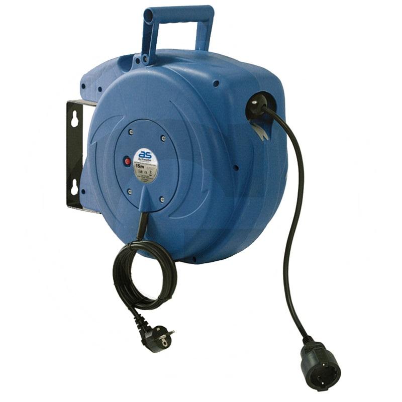 Kabelhaspel Automatisch - 250V, 16A, IP20