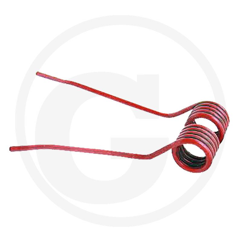 Cirkeltand Links Gebogen Rood - DS 5000