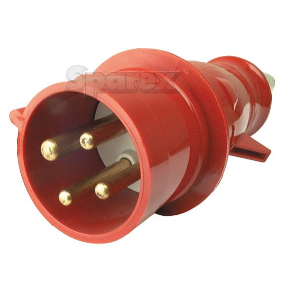 3 Phase Electrical Connector, 32 Ampère