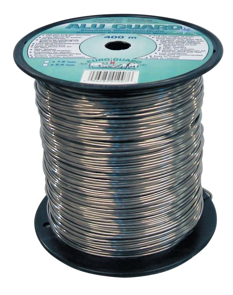 Draad  aluminium 400 m / 2 mm