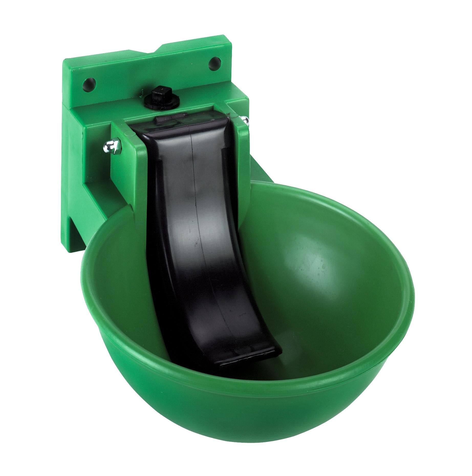 Drinkbak KS met lepel groen