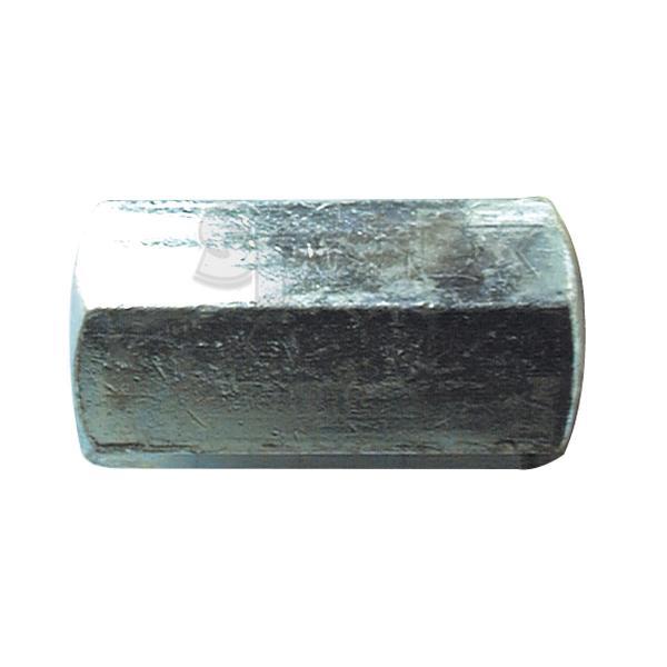 Verbindingsmoer, Afm.: M10x1.5mm (Din 63340) Metric Coarse