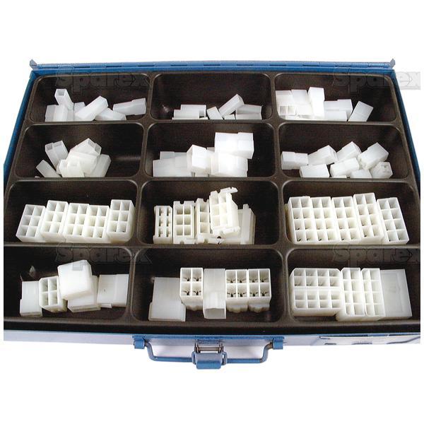 Verbindingshuizen M/V 1-8 polig (150 st.)