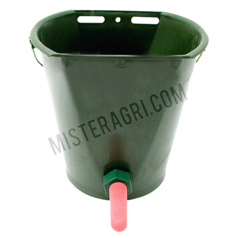 Kalverdrinkemmer - kunststof, ca. inhoud 9 liter