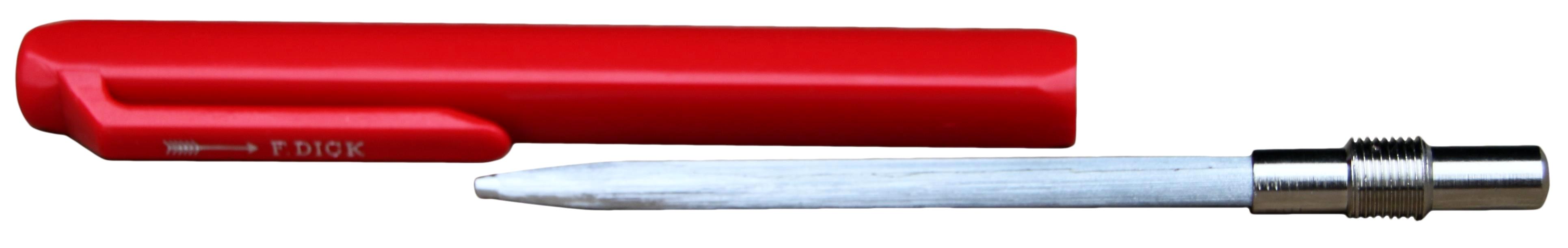 Hoefmes vijl rond voor mes en krul