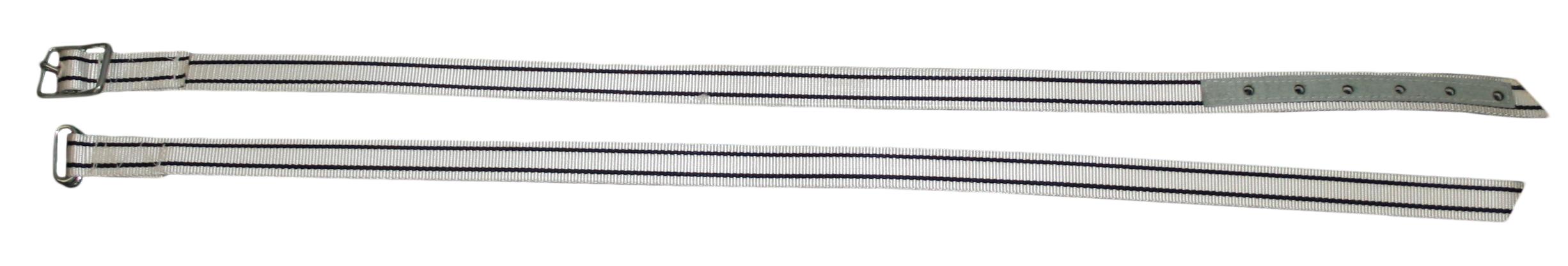Koeriem nylon 110 cm met tonggesp
