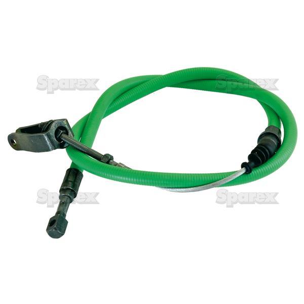 Koppelings kabels - Lengte: 1115mm, Lengte buitenkabel: 815mm.