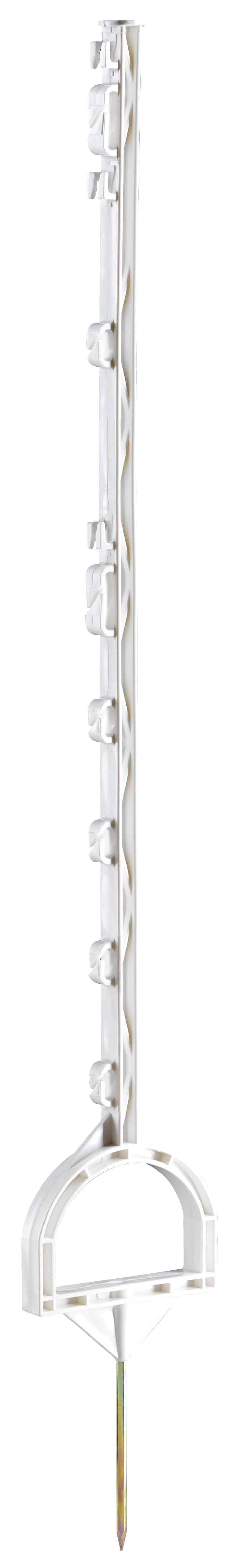 Instappaal met stijgbeugel 114 cm wit