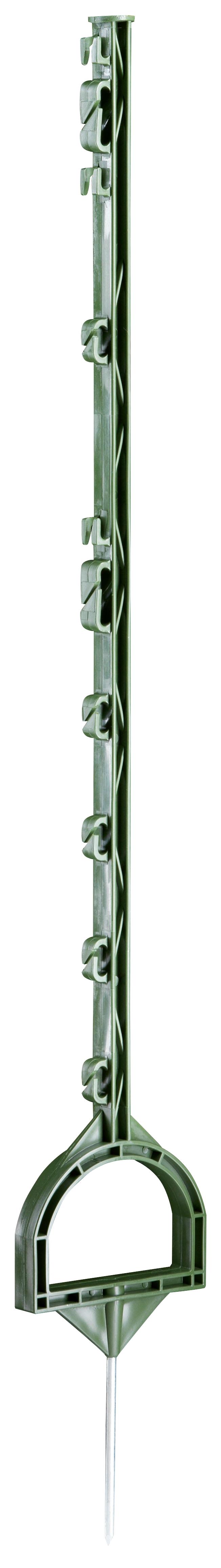 Instappaal met stijgbeugel 114 cm groen