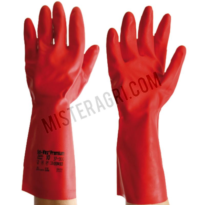 Vloeistofdichte handschoenen - maat 10