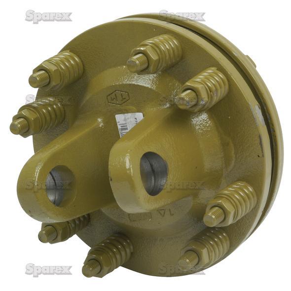 Aftakas Platenslipkoppeling (Afm. Kruisstuk: 30.2 x 106.5mm) Afm: 1 3/8''-6 Tanden