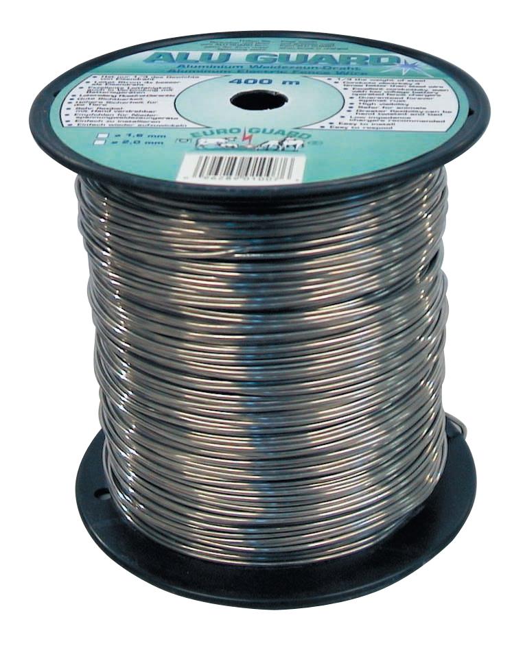 Draad  aluminium 400 m / 1.6 mm