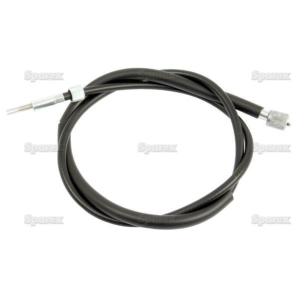 Toerenteller Kabels - Lengte: 1195mm, Lengte buitenkabel: 1163mm.