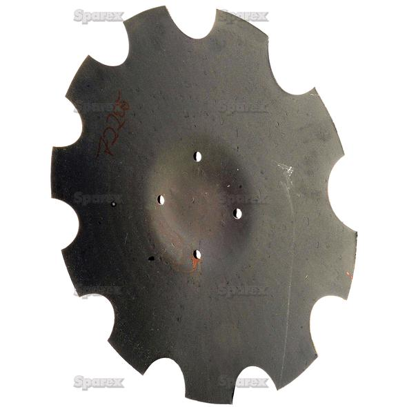 Eggenschijf - Ø18'' (460mm), Type: , Dikte: 4mm.   To fit as: XL043