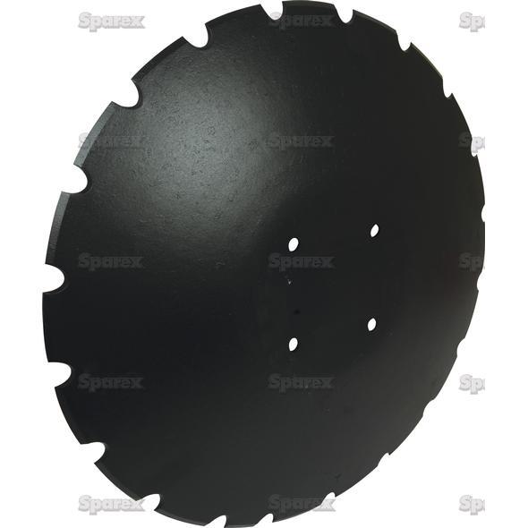 Eggenschijf - Ø18'' (460mm), Type: , Dikte: 4mm.   To fit as: XL044