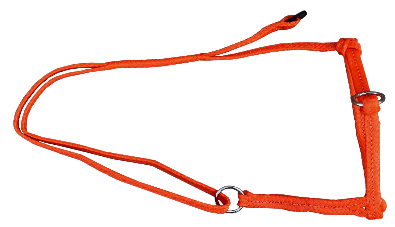Koehalster verstelbaar breed oranje