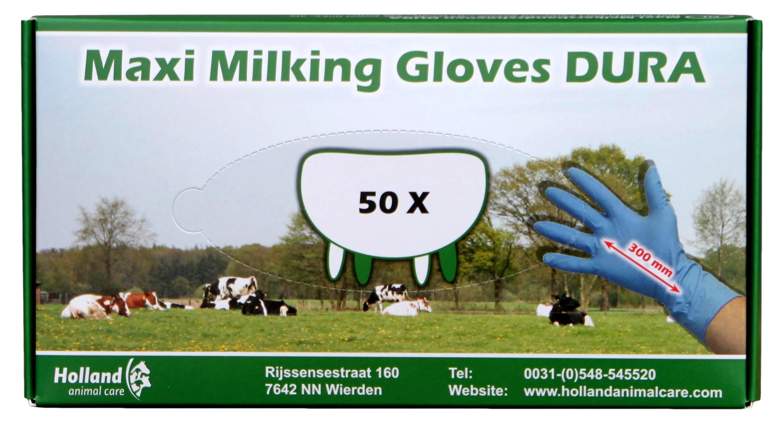 Maxi Milking Gloves Dura 300mm L    8-9