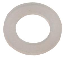 Nylon zuigerring   5ml plat
