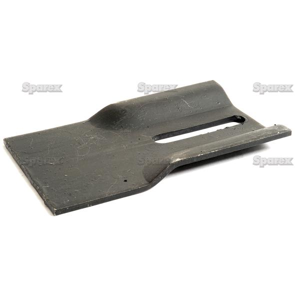 SCRAPER PLATE 140X90X4   To fit as: 60500