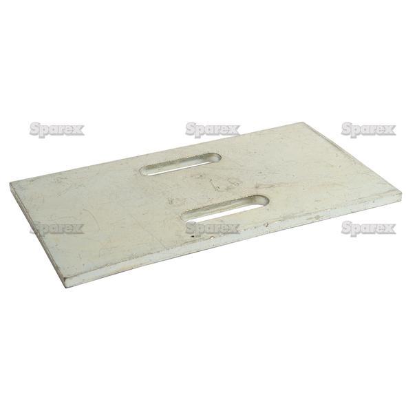 SCRAPER PLATE 152X90X5   To fit as: 300142
