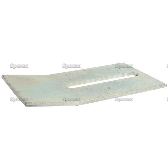 SCRAPER PLATE 140X75X3   To fit as: 52532130