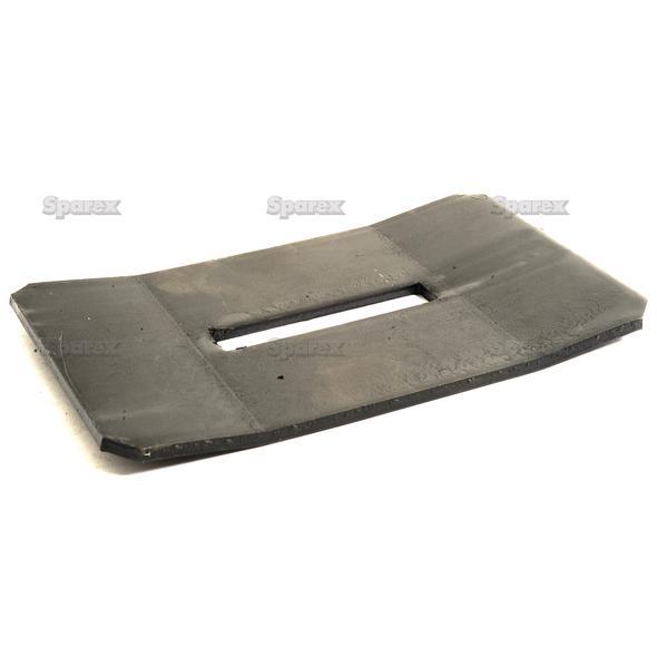 SCRAPER PLATE 160X105X4   To fit as: 8008090