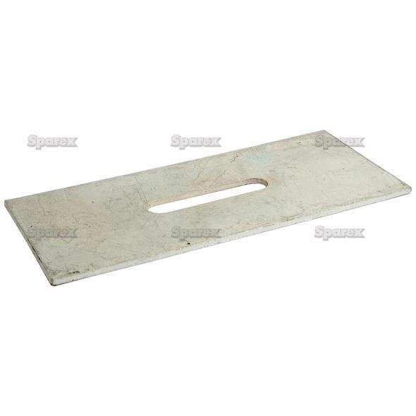 SCRAPER PLATE 170X80X3   To fit as: 84050027
