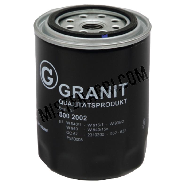 8002002 Oliefilter Granit