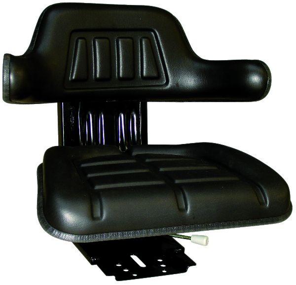Tractorstoel Mechanisch Zwart