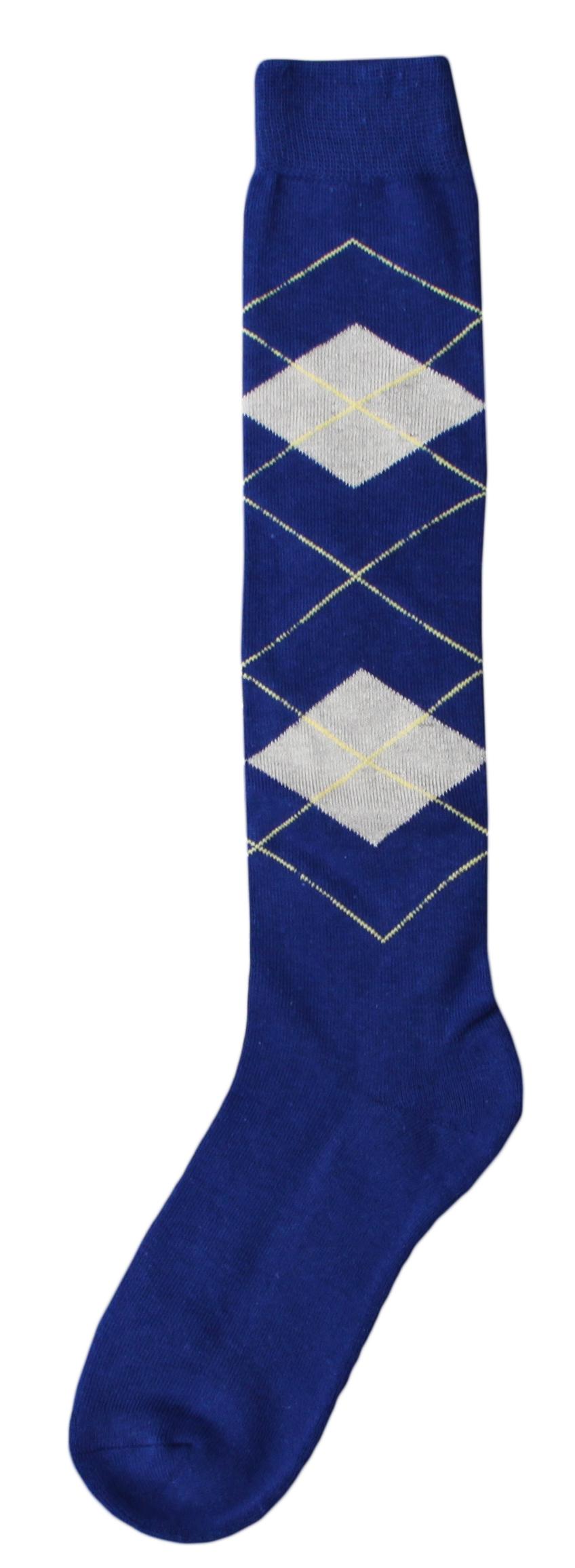 Kniekous RE d.blauw/beige   39-42
