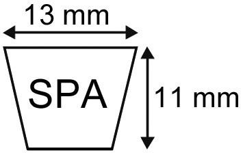 V-SNAAR SPA1600 13X11X1600