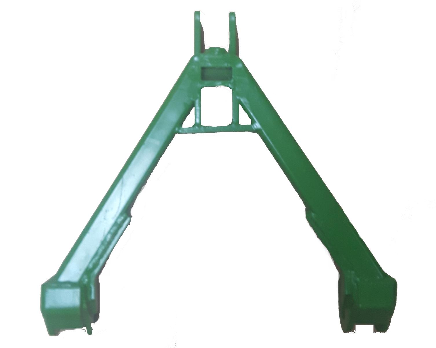 Koppelingsdriehoek tractorzijde - cat 0