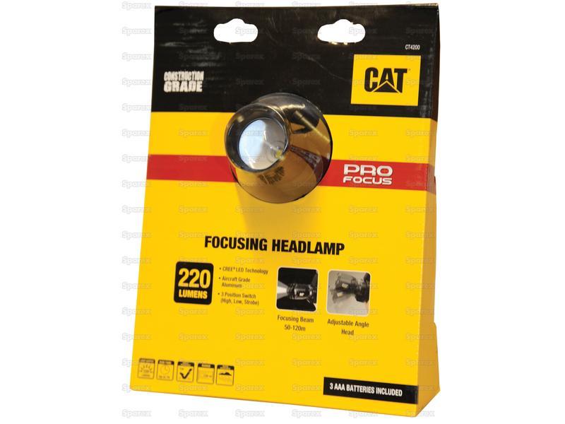 CAT LED Hoofdlamp 220 Lumen