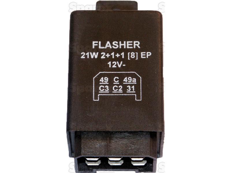 FLASHER UNIT - 8X21W/12V