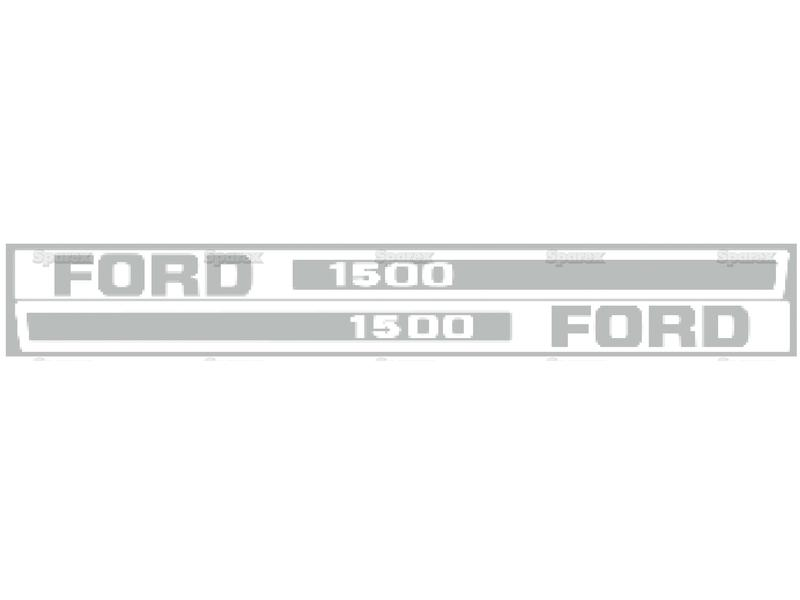 DECAL KIT-FORD 1500 - HOOD