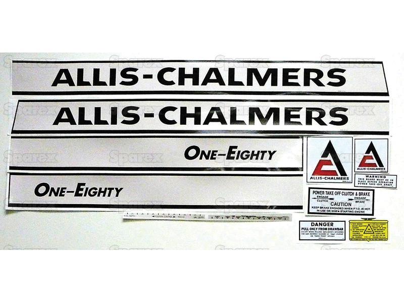 DECAL SET- ALLIS CHAMLERS 180