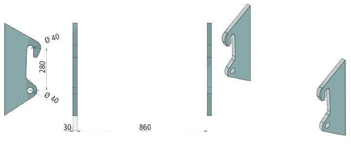 Aanlasdelen Kramer Passend: 212 - 850