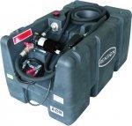 Mobiele Brandstoftank - 200 Liter, 12V, 50L/min - Aut. Vulpistool