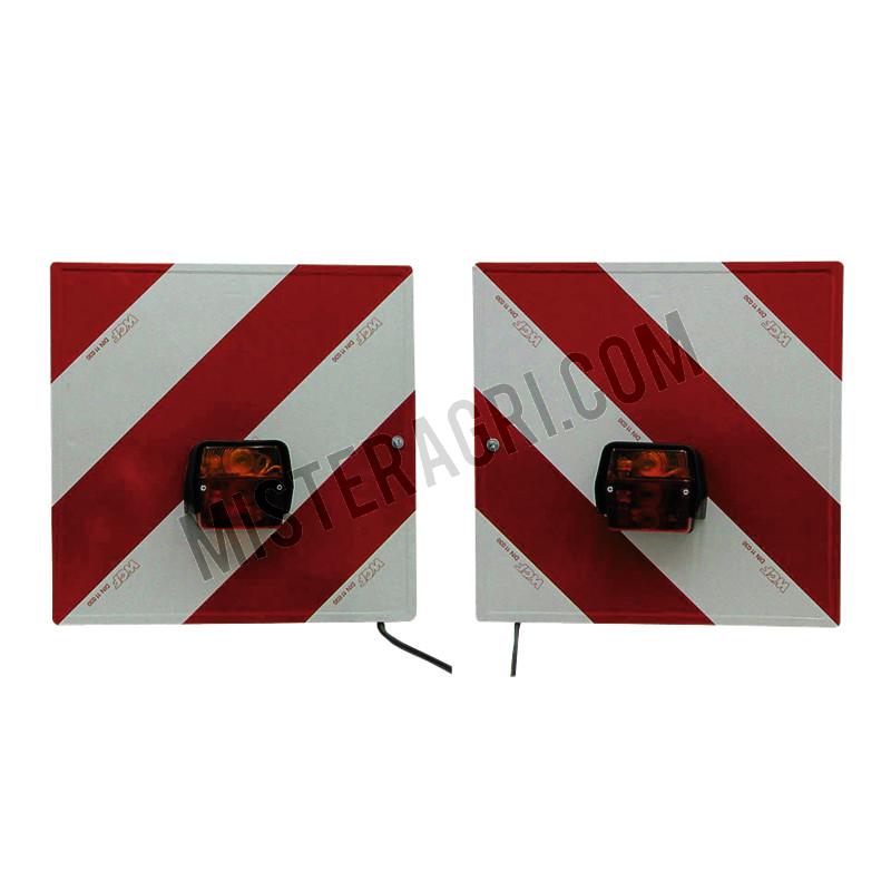 Verlichtings- en waarschuwingsborden set