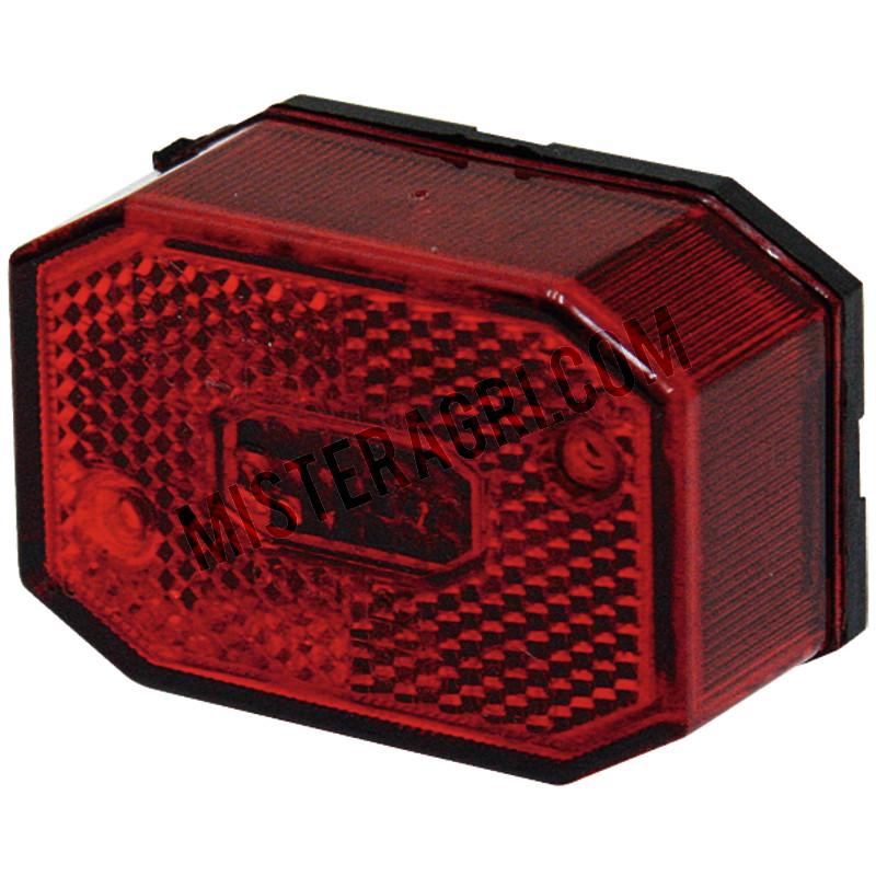Achterlicht, rood - links en rechts