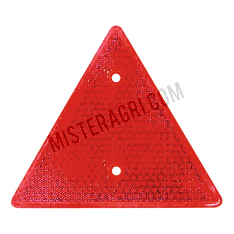 Driehoeksreflector - rood