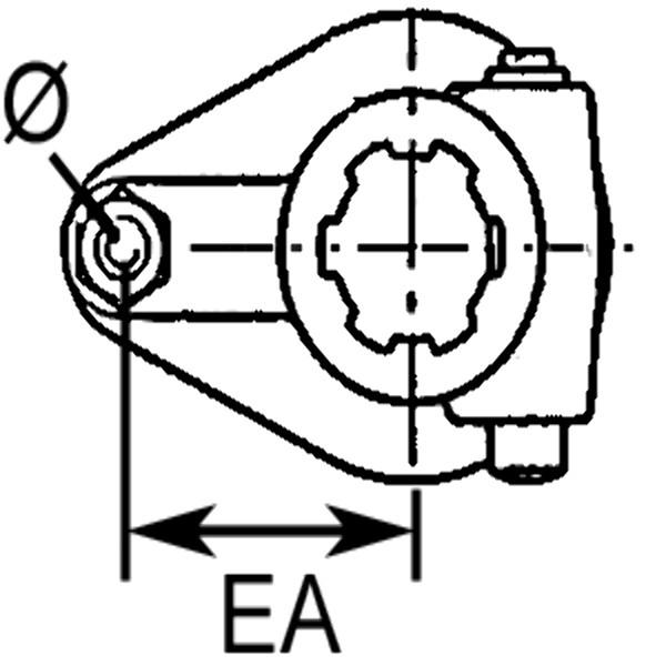 Breekboutkoppeling - M12 x 65 M8.8 - 1.3/4 inch