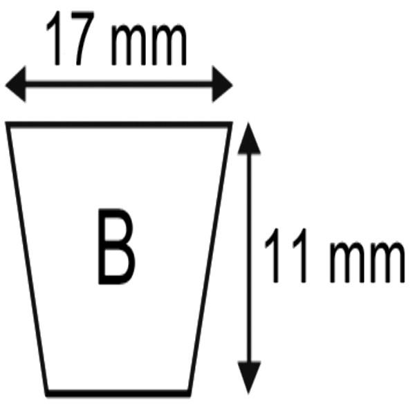 V-SNAAR B101 1/2 17X11X2626